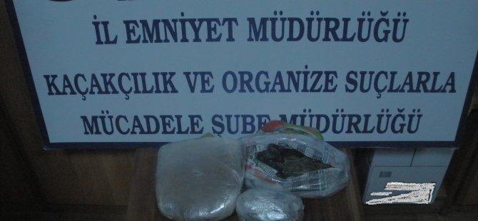 KAYSERİ'DE UYUŞTURUCU TACİRLERİNE OPERASYON