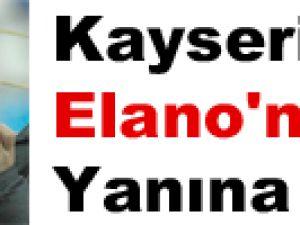 Kayseri'den Elano'nun Yanına Gitti