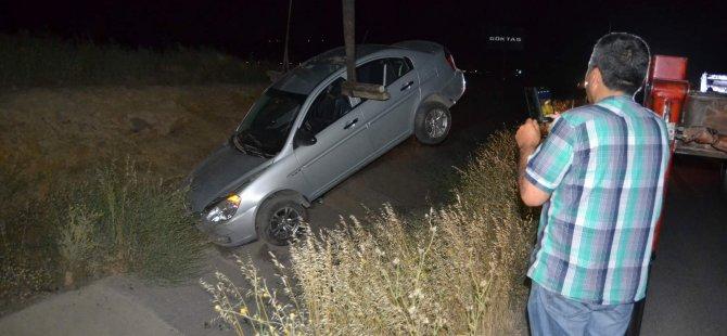 Kuzey Çevre Yolu'nda meydana gelen trafik kazası