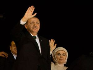 Başbakan Erdoğan'a Ankara'da Büyük Karşılama