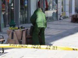 Kayseri'de işçilerin durduğu alanda unutulan çanta için bomba ihbarı yapıldı