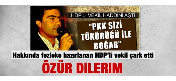 HDP'li Abdullah Zeydan çark etti