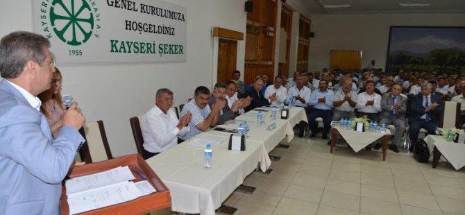 Kayseri Şeker 60 ncı Genel Kurul Toplantısı Yapıldı