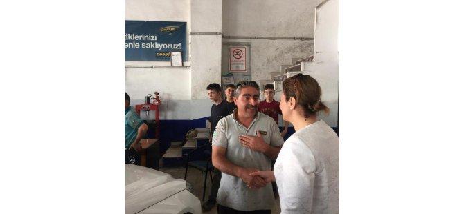 Ak Parti Kayseri Milletvekili ÇALIŞ ÇALIŞIYOR