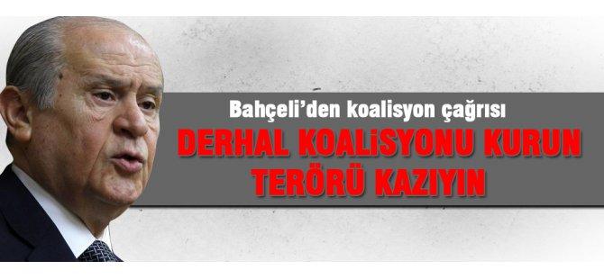Bahçeli'den 'Hükümeti Kurun' çağrısı