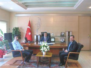 Mmo Kayseri Yönetimi Vali Düzgün'ü Ziyaret Etti