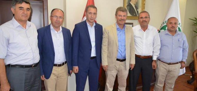 Yozgat Belediye Başkanı ve Ziraat Odası Başkanından Başkan Akay'a destek