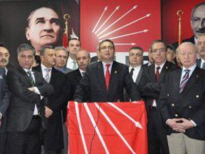 CHP'li 12 Milletvekili Kayseri'de:'Asıl Provokatör Erdoğan'dır'