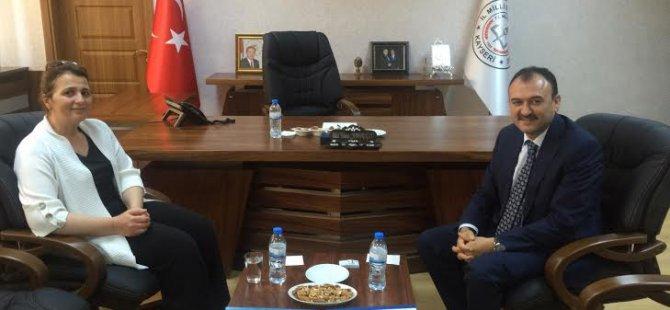 AK Parti Kayseri Milletvekili ÇALIŞ, Gezilerine Devam Ediyor