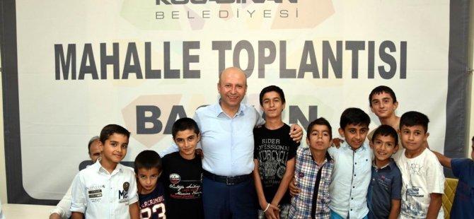 KOCASİNAN'DAN 'BAŞKAN SİZİ DİNLİYOR' TOPLANTISI