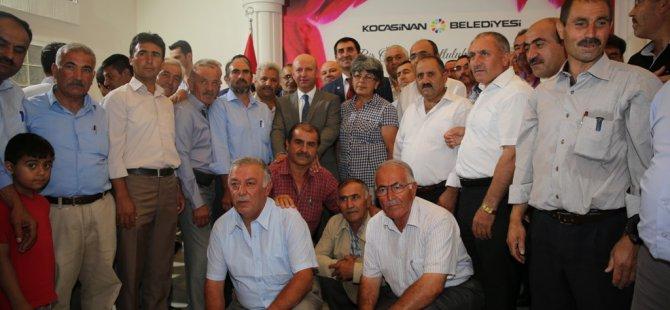 KOCASİNAN'DAN MUHTARLARA BİLGİSAYAR