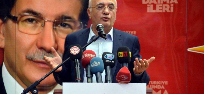 Mustafa Elitaş CHP ve  MHP'ye çağrıda bulundu