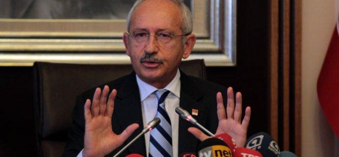 Kılıçdaroğlu: Her şeye hayır diyen bir MHP
