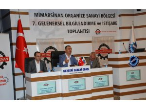 Mimarsinan OSB 7. Bilgilendirme Toplantısı Yapıldı