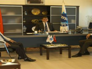 Chp İl Başkanı Atila Boydak'ı Ziyaret Etti