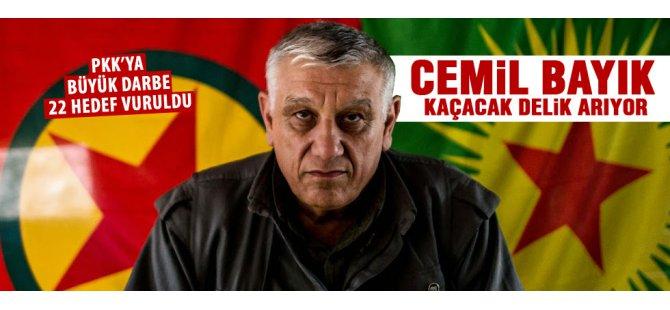 22 PKK hedefi vuruldu