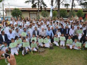 Kayseri Şeker yaz spor okulları sona erdi