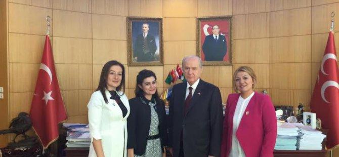 KAYSERİ MHP'Lİ KADINLAR KOLLARI SIVADI