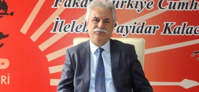 CHP İL BAŞKANI AYAN,MV.ADAY ADAYLIĞI SÜRECİNİ DEĞERLENDİRDİ