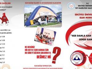 Kayseri Şeker çalışanlarından kan bağış kampanyasına destek