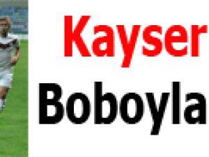 Kayserispor Boboyla güldü