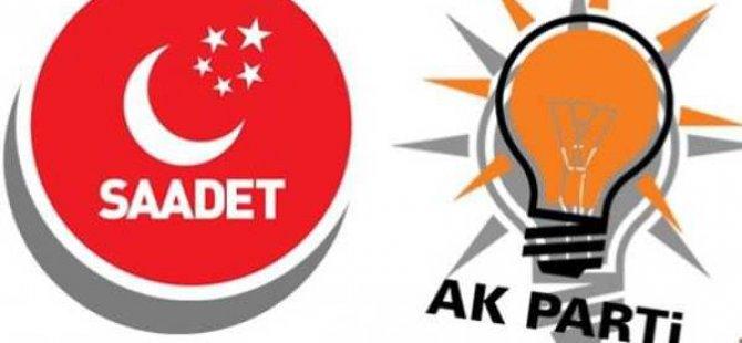 AK Parti SP ittifakı zor.....