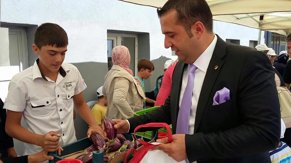 Ak Parti Kayseri Mv. A.Adayı Yükselgüngör Patlıcan Tanıtım Günlerini Katıldı