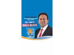 Ak Parti Kayseri Milletvekili Aday Adayı Ferhat Akmermer