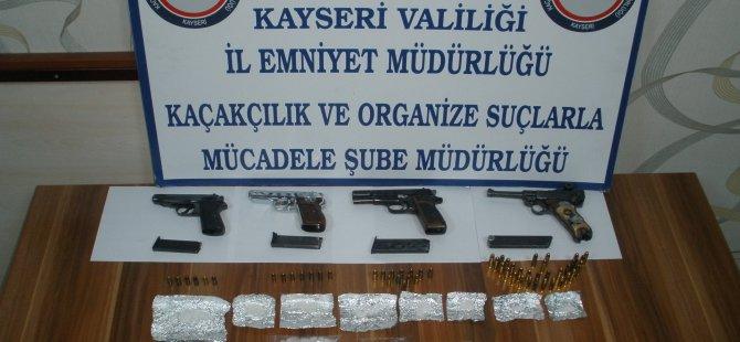 KAYSERİ'DE UYUŞTURUCU TACİRLERİNE DARBE