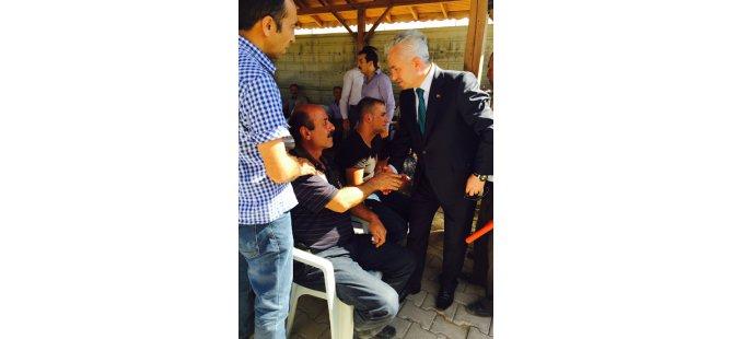 """Ak Parti Mv. A. Adayı Suat Özsoy """"Görevden kaçma lüksümüz yok"""""""