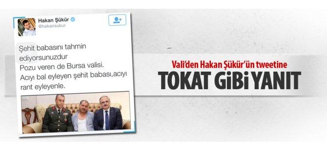 Hakan Şükür'ün tweetine validen tokat gibi yanıt