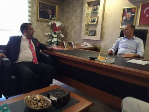 Ak Parti Kayseri Milletvekili Aday adayı Adem yükselgüngör Ak Parti ilçe başkanlarını ziyaret etti