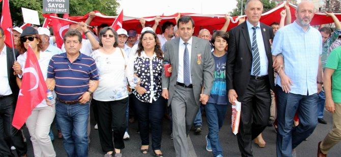 ŞEHİT AİLELERİNDEN 'TERÖRE LANET BİRLİĞE DAVET' MİTİNGİ