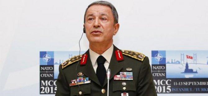 Hulusi Akar'dan kara harekatı açıklaması