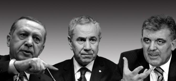 Gül ve Bülent Arınç Recep Tayyip Erdoğan'ı yalnız bıraktı
