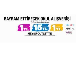 MEYSU OUTLET'TE BAYRAMA ÖZEL İNDİRİM