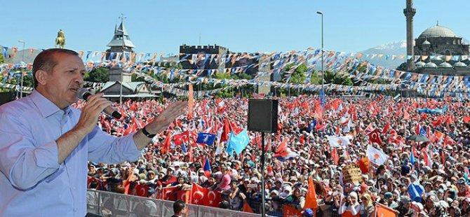 Cumhurbaşkanı Erdoğan Kayseri'de Yapılan Operasyona Gönderme Yaptı