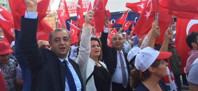 On binler teröre karşı tek yürek Ankara'da