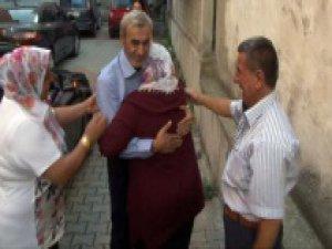 Irak'ta kaçırılan Türk işçi evine döndü