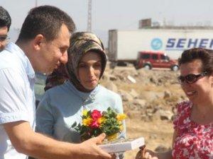 İdil'e atanan öğretmenler sürprizle karşılaştı
