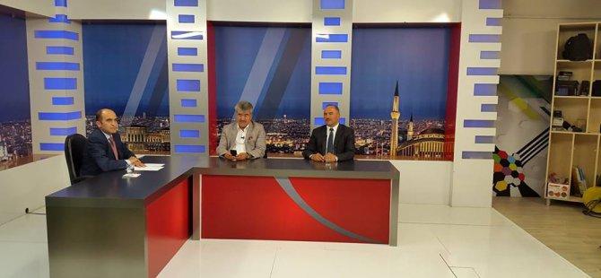 FELAHİYE VE AKKIŞLA BELEDİYE BAŞKANLARI KON TV'DE