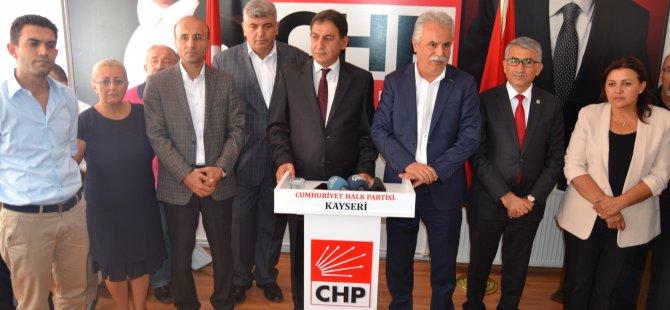 CHP Kayseri Milletvekili aday adayı Ali Paşa Tan:
