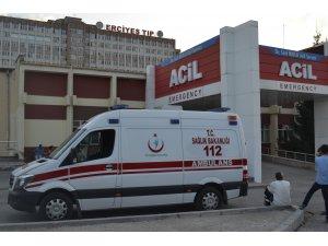 KAYSERİ'DE CAMİNİN BAHÇESİNDE KUNDAĞA SARILI BEBEK BULUNDU