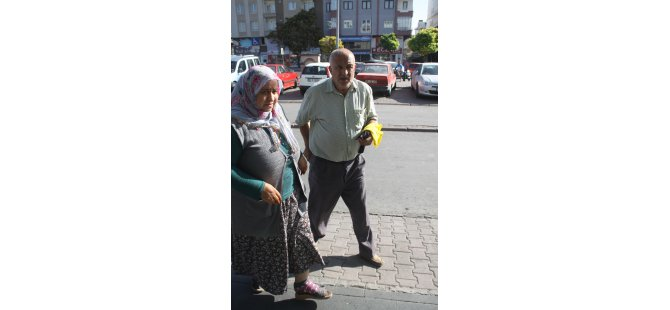 Kayseri'de kurban keserken yaralanan vatandaşlar