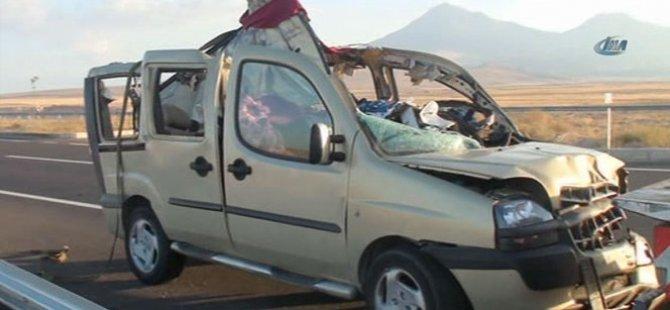 Niğde'de katliam gibi kaza: 13 ölü, 1 yaralı