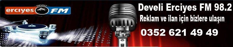 Develi Erciyes FM 98.2 SMS Hattı Bekliyoruz