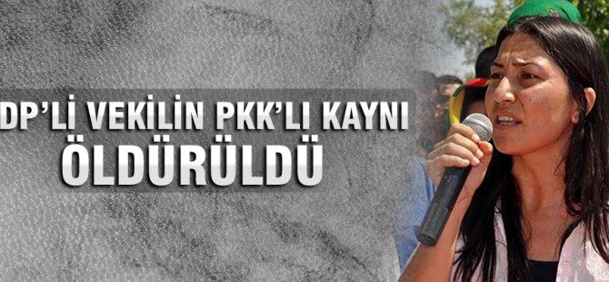 HDP'li vekilin PKK'lı kaynı öldürüldü