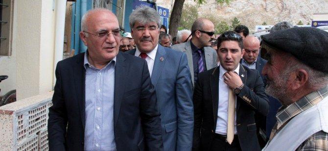 AK Parti Kayseri Milletvekili Adayları Akkışla'da