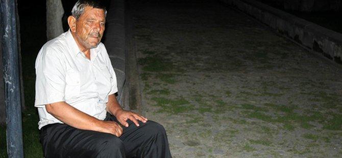 KAYSERİ'DE SOKAKTA KALAN VATANDAŞ YARDIM İSTEDİ