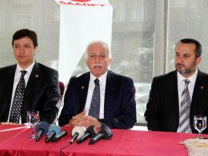 Kamalak Kayseri'de gazetecilerle buluştu